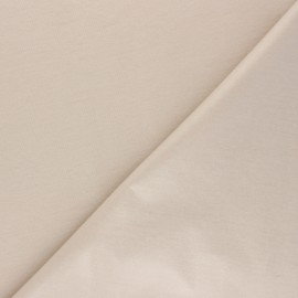 Plain jersey PUL fabric - light beige x 10cm
