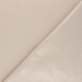 Tissu PUL jersey coton uni - beige clair x 10cm