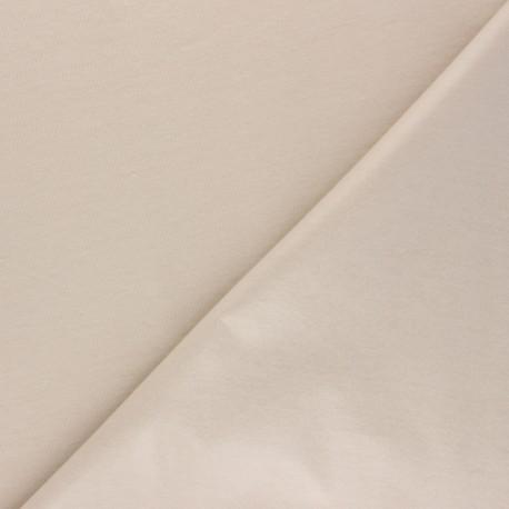 Tissu PUL jersey uni - beige clair x 10cm