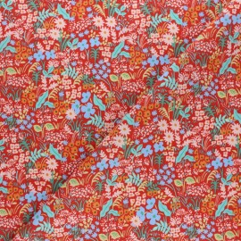 Rifle Paper Co. Cotton fabric - Red Meadow x 10cm
