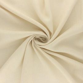 Tissu viscose lurex Glittery fever - écru x 10cm