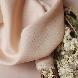 Tissu viscose Atelier Brunette - Dobby Blush x 10cm