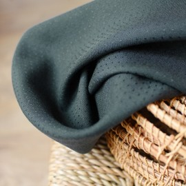 Tissu viscose Atelier Brunette - Dobby Smokey x 10cm
