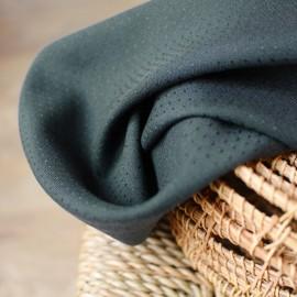 Viscose fabric Atelier brunette -  Dobby Smokey x 10cm