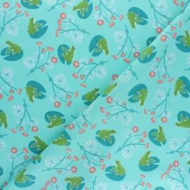 Cotton Dashwood Studio fabric Rivelin Valley - frog x 10cm