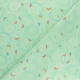 Tissu coton Dashwood Studio Rivelin Valley - Libellule x 10cm