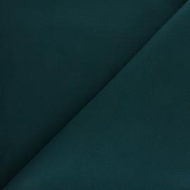 Tissu drap manteau - vert paon x 10cm