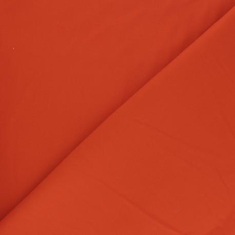 Tissu Popeline - Orange vif x10 cm