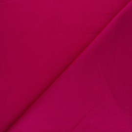 Tissu Popeline - Framboise x10 cm