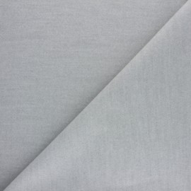Coat wool fabric - mouse grey x 10cm