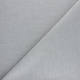 Tissu drap manteau - gris souris x 10cm