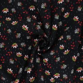 Viscose Fabric - black Dina x 10cm