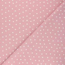 Swimsuit Lycra fabric - pink Pois pastel  x 10cm