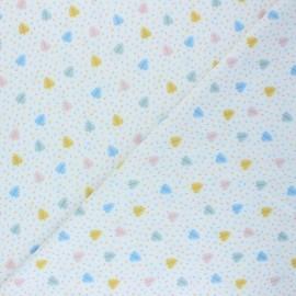 Tissu Lycra Maillot de bain Douceur d'été - blanc x 10cm