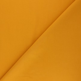 Tissu Tencel uni - jaune moutarde x 10cm