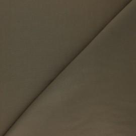 Plain tencel fabric - khaki green  x 10cm