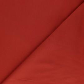 Tissu Tencel uni - rouge x 10cm