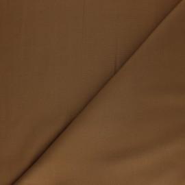 Tissu Tencel uni - brun x 10cm