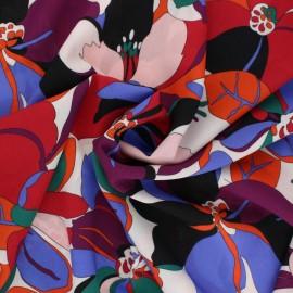 Viscose Fabric - purple Amalia x 10cm