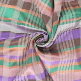 Tissu voile de lurex Brillantin - Vert x 10cm