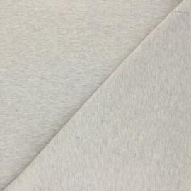 Jersey Fabric - mottled grey Nali x 10cm