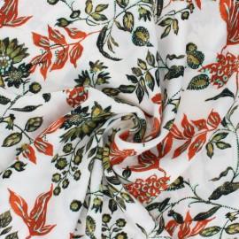 Viscose Fabric - beige Kaduna x 10cm