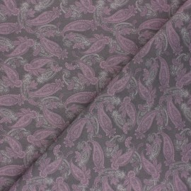 Tissu coton Kerrya - Violet x 10cm