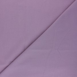 Polycotton voile fabric - fig pink x 10cm