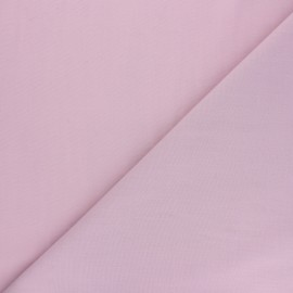 Polycotton voile fabric - old pink x 10cm