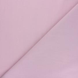 Tissu voile polycoton uni - vieux rose x 10cm