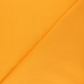 Polycotton voile fabric - turmeric orange x 10cm