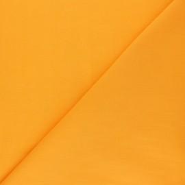 Tissu voile polycoton uni - Curcuma x 10cm