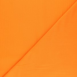 Polycotton voile fabric - orange juice x 10cm