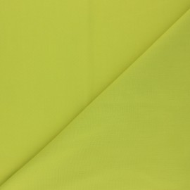 Polycotton voile fabric - absinthe green x 10cm