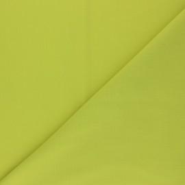Tissu voile polycoton uni - vert absinthe x 10cm