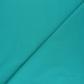 Polycotton voile fabric - emerald green x 10cm