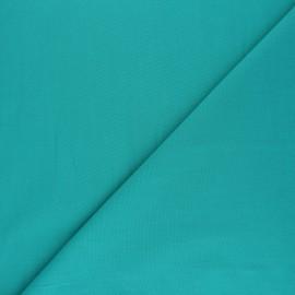 Tissu voile polycoton uni - vert émeraude x 10cm