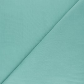 Polycotton voile fabric - celadon green x 10cm