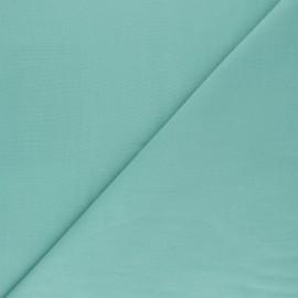 Tissu voile polycoton uni - vert céladon x 10cm