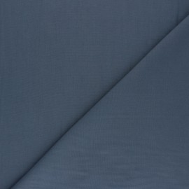 Polycotton voile fabric - slate grey x 10cm