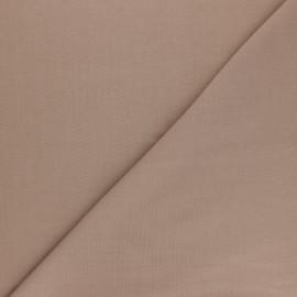 Tissu voile polycoton uni - châtaigne x 10cm