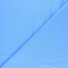 Polycotton voile fabric - sky blue x 10cm