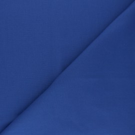 Polycotton voile fabric - denim blue x 10cm