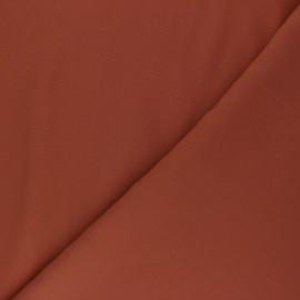 Tissu Tencel uni - terracotta x 10cm