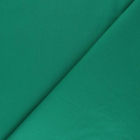 Tissu Popeline - Vert x10 cm