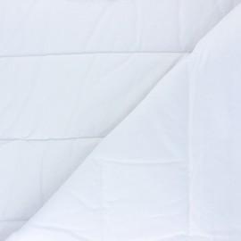 Tissu doublure matelassée thermique - blanc x 10cm