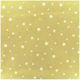 Tissu coton Oeko-tex Scarlet - citron x 10cm