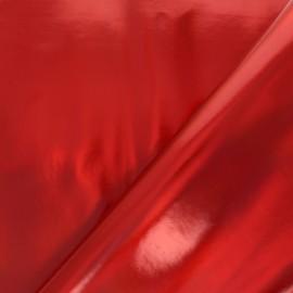 Simili cuir Futurist - rouge x 10cm