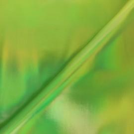 Simili cuir Futurist - vert x 10cm
