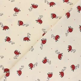 Tissu jersey Coccy - Beige  x 10cm